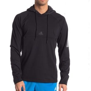 Original Adidas Men's Hoodie Sweatshirt Medium